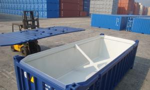 Dịch vụ cho thuê Container Open Top 20 feet vận chuyển đường biển
