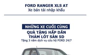 FORD RANGER XLS AT 2.2L 4x2 bán tải nhập khẩu Ford Long An
