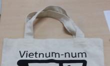 Công ty may túi vải bố giá rẻ, may túi vải bố in logo, túi vải bố