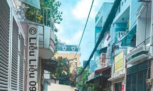 Nhà 2 lầu vuông vức hẻm xe hơi trung tâm Lê Văn Sỹ