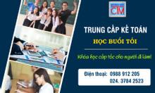 Khóa học trung cấp kế toán buổi tối ở Hà Nội