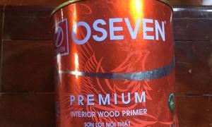 Sơn gỗ lót PU 611, trong nhà OSEVEN