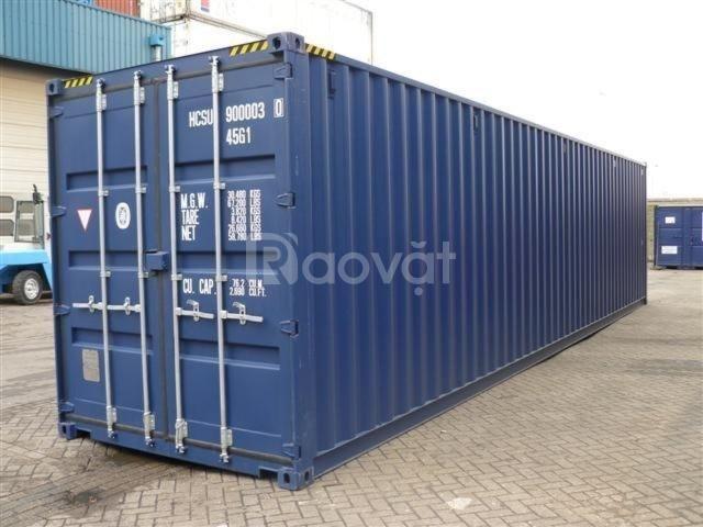 Dịch vụ cho thuê container 40 feet thường, 40 feet khô giá rẻ