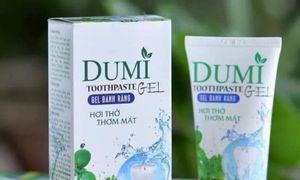 Dumi Toothpaste, gel đánh răng Dumi lô hội dâu tây 110g