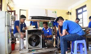 Lớp dạy nghề sửa chữa điện lạnh và điều hòa