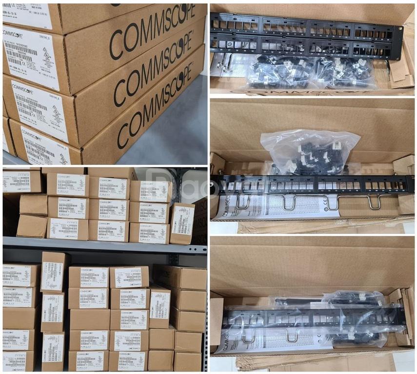 Phân phối patch panel Commscope cat5 cat6 tại Hà Nội