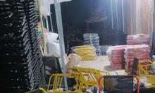 Cung cấp bàn ghế khung sắt, khung inox