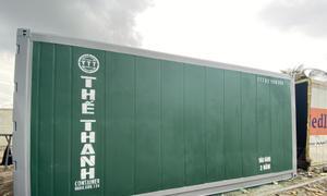 Container lạnh 20 feet sơn mới 2.9m