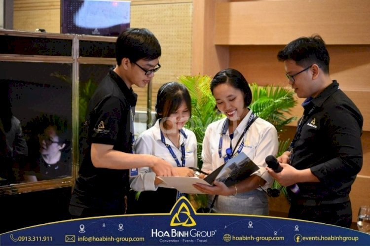 Tổ chức sự kiện với thiết bị chuyên nghiệp, nhân viên phục vụ tận tình