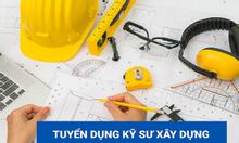 Cần tuyển kỹ sư xây dựng đi làm ngay tại Hà Nội