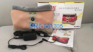 Gối massage Hàn Quốc 6 bi hồng ngoại Ayosun chính hãng
