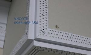 Nẹp nhựa tạo đường viền chỉ cho thi công trần, vách thạch cao W-09
