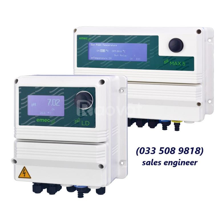 Bộ đo, hiển thị và điều khiển pH, ORP, Clo, LD Multichannel P