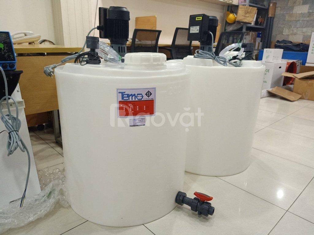 Bồn chứa hóa chất 50L Tema Thailand
