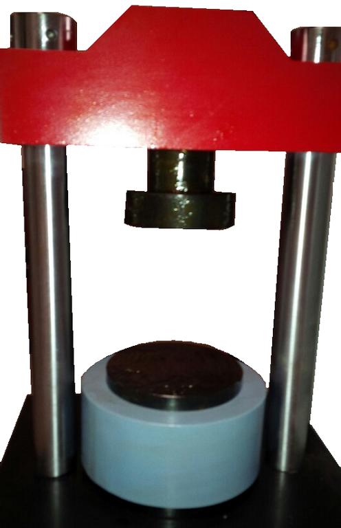 Máy nén uốn xi măng model TYA-300-Luda
