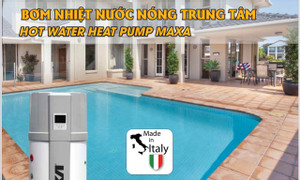 Máy nước nóng bơm nhiệt Maxa madein Italia, model Calido 300 lít