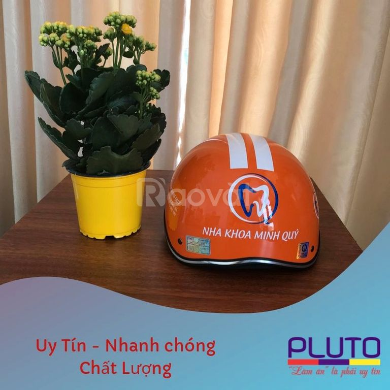 Lý do nên chọn nón bảo hiểm quảng cáo Pluto