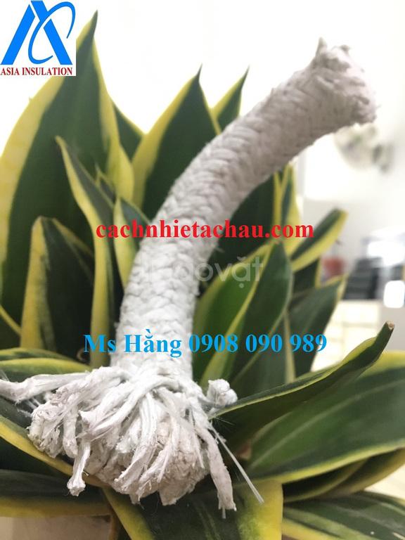 Cuộn dây Amiang lõi bột sáp cách nhiệt 260 độ C, 50kg/bao