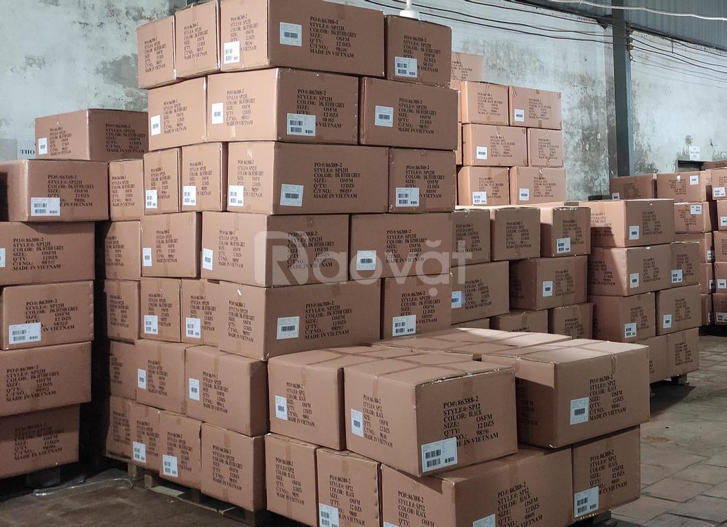 Thanh lý lô tất VNXK hàng công ty dệt len