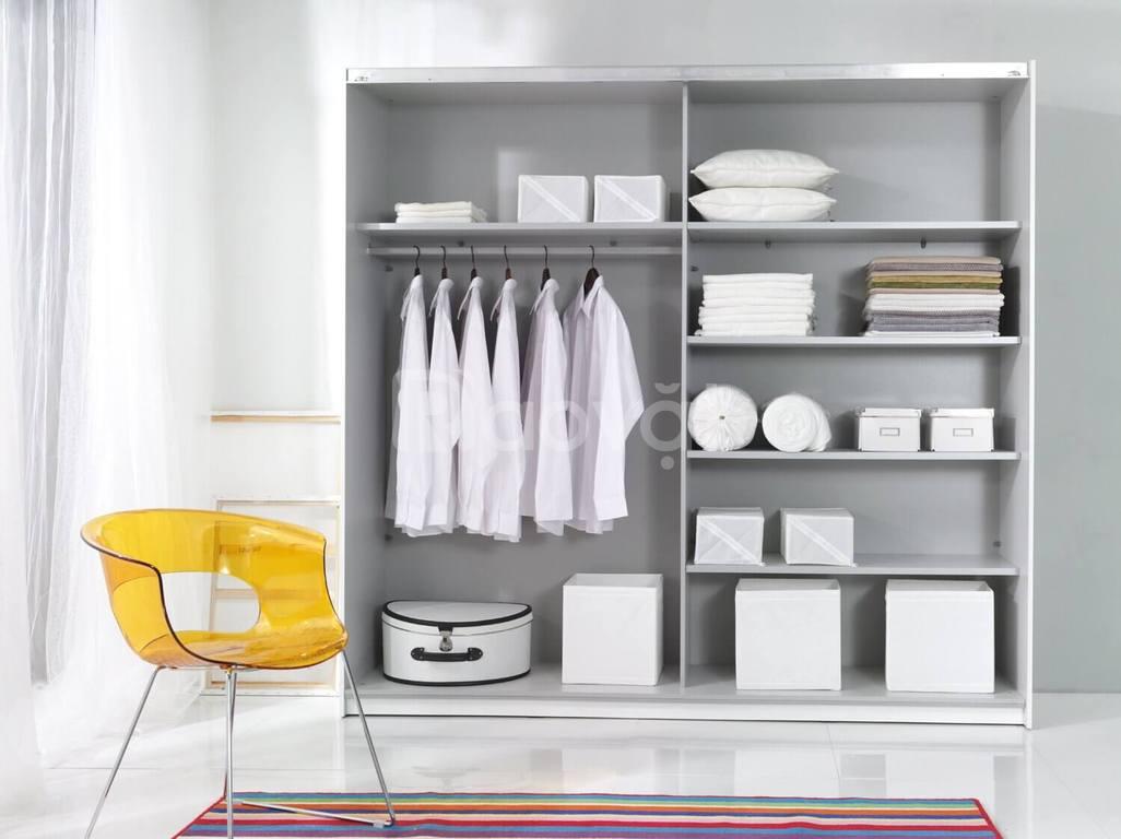 Tủ quần áo Acrylic An Cường Hcm, đóng tủ áo giá rẻ hiện đại