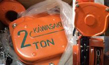 Pa lăng xích kéo tay 2 tấn Kawasaki