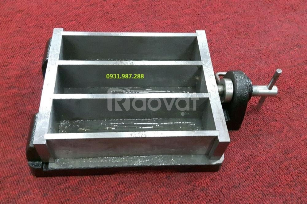Khuôn đúc mẫu vữa xi măng 40x40x160mm TPHCM