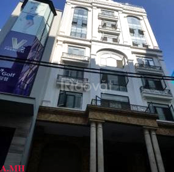 Tòa nhà mặt phố Liễu Giai, trung tâm Q.Ba Đình, 173m2, 9 tầng