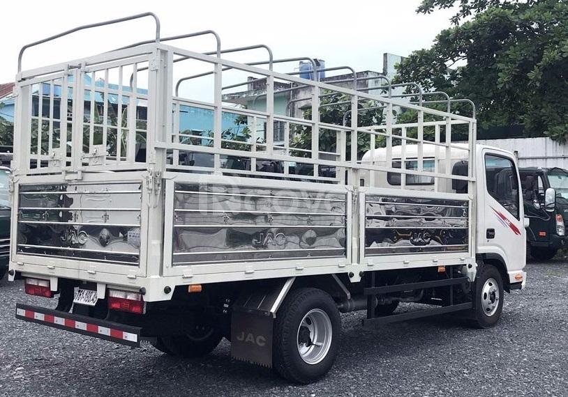Xe tải Jac 3T4 thùng 4m3, động cơ Isuzu 2.7L 2021 giá rẻ tại Tây Ninh