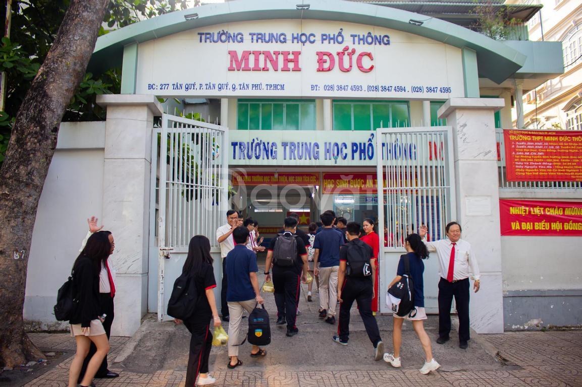 Thông báo THPT Minh Đức tuyển sinh 2021 -2022