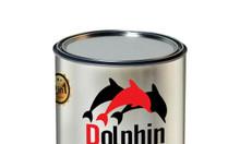 Sơn sắt mạ kẽm màu xám đậm xingfa mờ, màu nhôm xingfa Dolphin