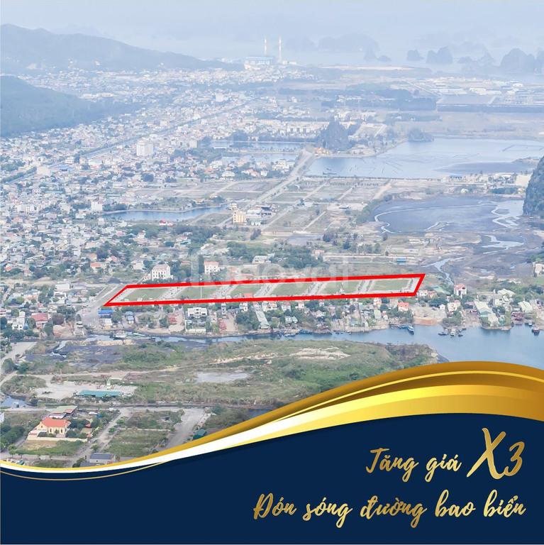 Bán đất nền đường bao biển con đường đẹp nhất vịnh Bắc Bộ