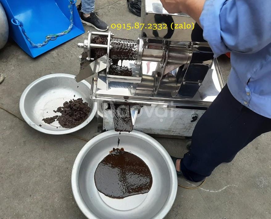 Máy ép nước cốt rau củ quả Bình Quân, 0915872332, chất liệu inox
