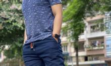Jogger xanh đen