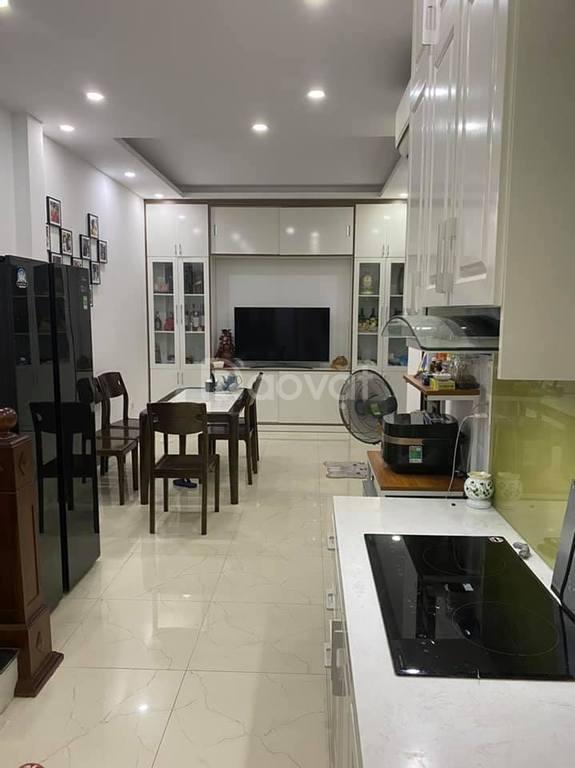 Nhà đẹp kiên cố, ngõ phố Việt Hưng, 34m2, 4,5 tầng