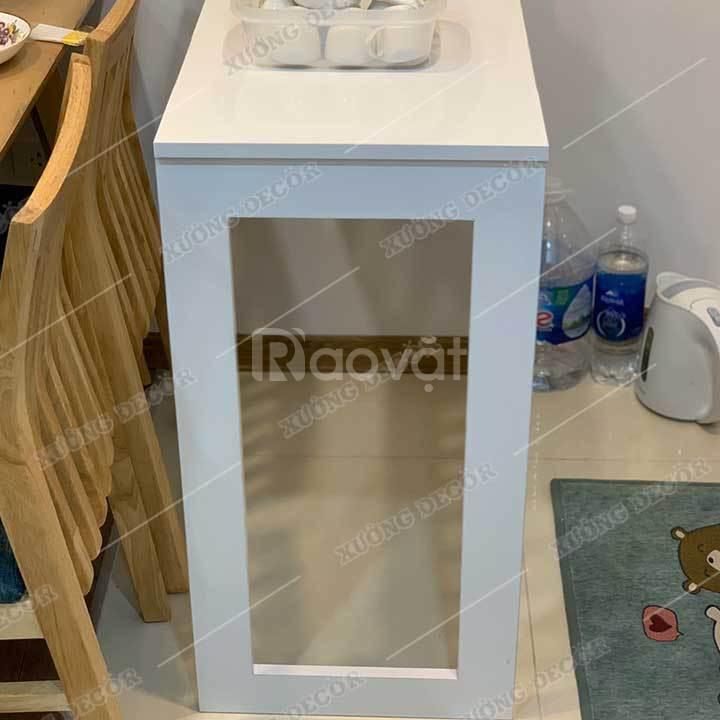 Bàn gấp khung tranh 45x75cm gỗ cốt xanh chống ẩm