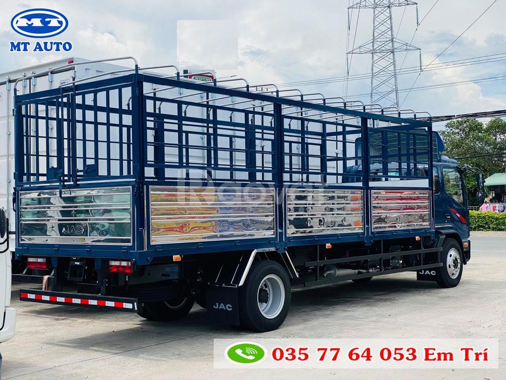 Xe tải JAC N900 9 tấn thùng 7 mét máy cummins Mỹ, hỗ trợ vay cao 80%