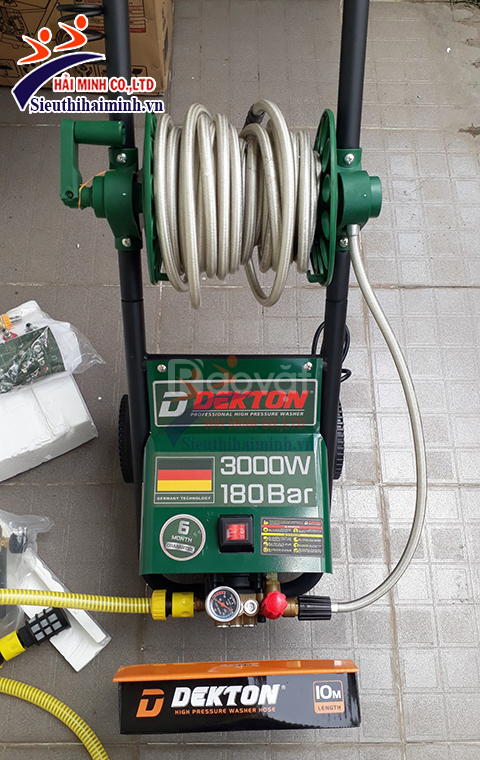 Máy rửa xe Dekton DK-3000A chỉnh áp