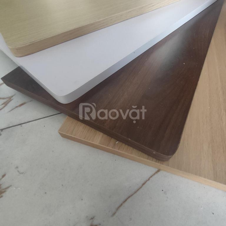 Mặt bàn gấp treo tường gỗ MDF 40x60cm 4 màu lựa chọn