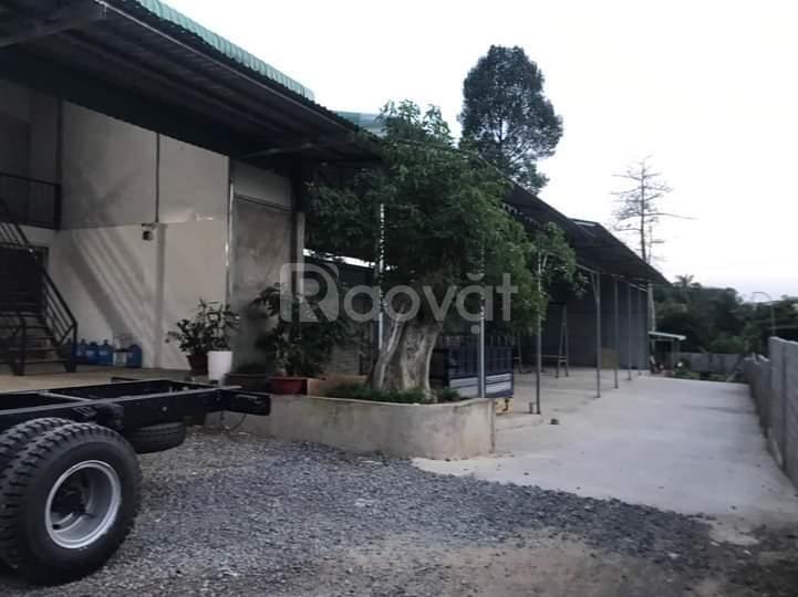 Bán nhà xưởng mặt tiền QL1A, gần cụm công nghiệp Hưng Lộc, ĐN