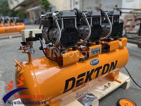 Máy nén khí Dekton DK59-100 nhỏ gọn, hoạt động êm ái