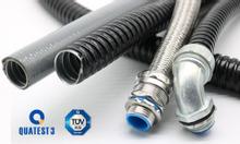 Sử dụng ống ruột gà thay thế ống thép luồn dây điện trong công trình