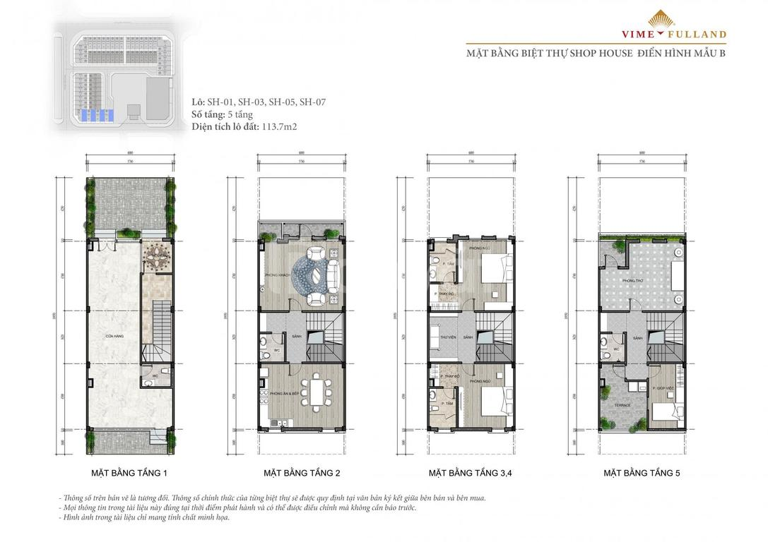 Shophouse phân lô, 115m2, 5 tầng, mặt tiền 6m nội thành Hà Nội