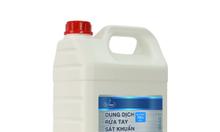 Dung dịch rửa tay sát khuẩn E-Clean dạng lỏng hương hoa hồng 2L