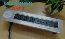 Hộp điện âm bàn cao cấp SMT-3 Sinoamigo tích hợp sạc không dây