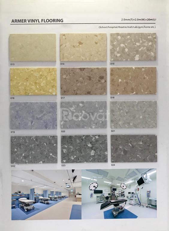Cung cấp và thi công sàn vinyl kháng khuẩn phòng sạch