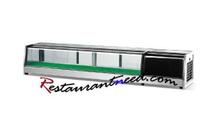 Tủ bầy sushi để bàn, tủ lạnh
