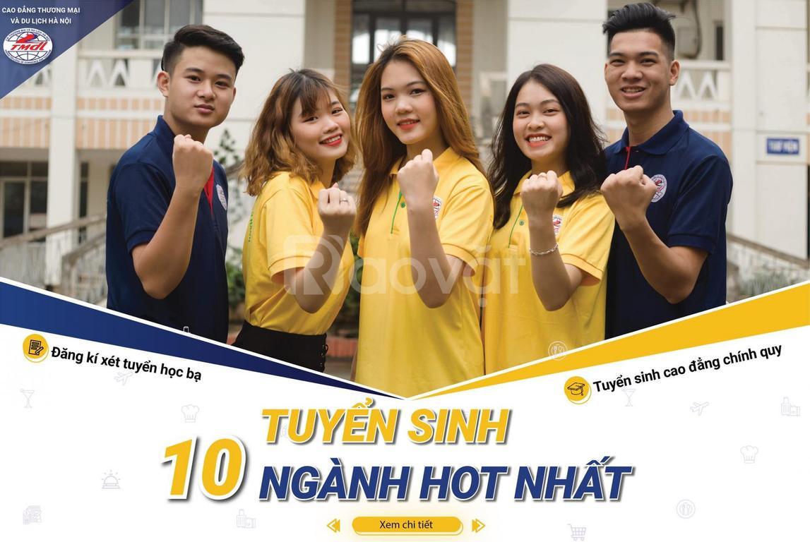 Tuyển sinh cao đẳng thương mại du lịch Hà Nội