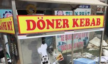 Xe bánh mì Doner Kebab 60x90x1m8
