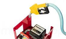Bộ bơm dầu mini NP8020 DC, bộ bơm kèm đồng hồ chạy điện 12V-24V