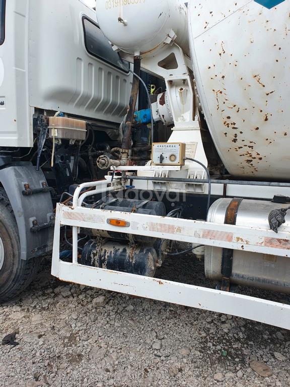 Bán xe trộn bê tông lướt hiệu Howo 2016 5 mét khối nội địa Trung